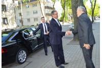 Palangoje lankėsi Izraelio ambasadorius Amiras Maimonas