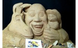 Žiūrovų laukia dešimt smėlio skulptūrų