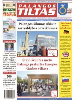 Palangos tilto laikraštis, Data: 2015-09-24, Numeris: 72(1408)