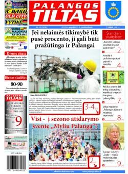 Palangos tilto laikraštis, Data: 2012-05-10, Numeris: 35 (1078)