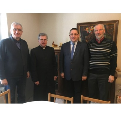 Iš kairės: Pranas Žeimys, Vidmantas Gricius, Šarūnas Vaitkus ir Ramutis Šeštokas.