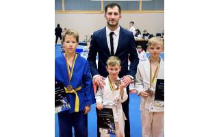 Klaipėdos miesto atvirajame dziudo čempionate – keturi palangiškių medaliai