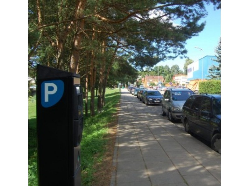 Sprendimas statyti daugiau parkomatų pasiteisino, bet rinkliavos planas vėl neįvykdytas