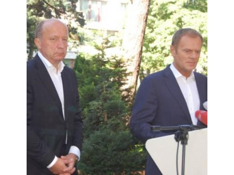 Palangoje - Lenkijos ir Lietuvos premjerai