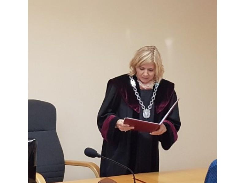 Palangos miesto apylinkės teismo teisėja Diana Vercinskė.