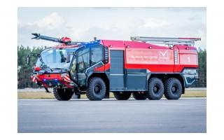 Palangos oro uoste pristatytas dar neregėtas priešgaisrinės tarnybos automobilis