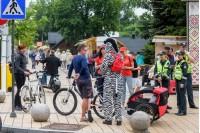 Draugiški reidai Palangoje: dviratininkams priminta apie saugumą