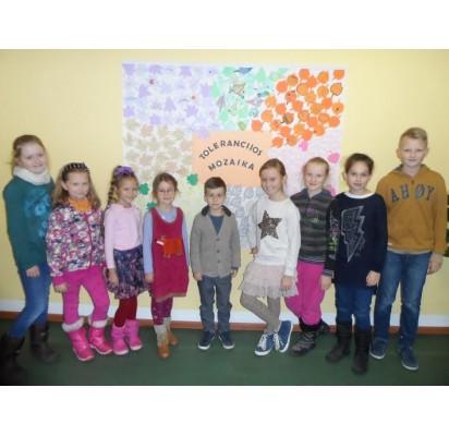Palangos pradinė mokykla paminėjo Tarptautinę tolerancijos dieną