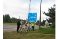 Palangos jaunimo dviračių žygis vos nesibaigė skaudžia nelaime