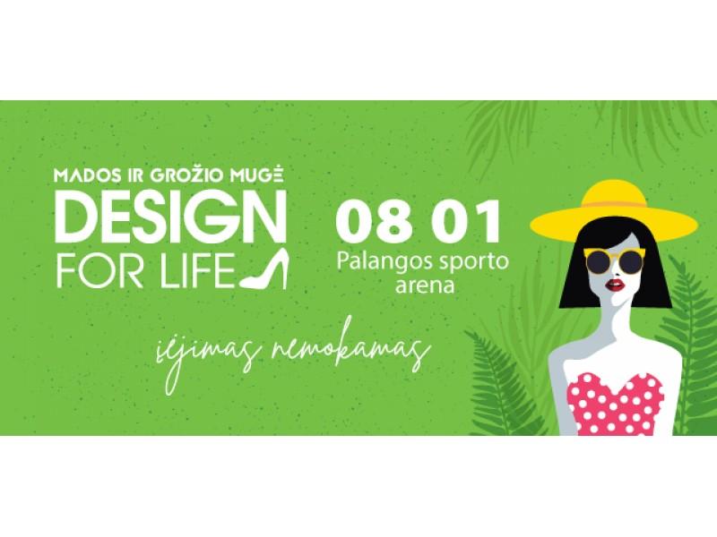 """Šis šeštadienis Palangoje. Ne tik jūra, bet ir viena didžiausių, nemokama mados ir grožio mugė """"Design for life"""" (FOTOGALERIJA)"""