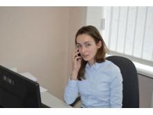 """UAB """"Palangos šilumos tinklai"""" teisininkė Kristina Liaugaudaitė."""