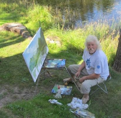 """Dailininkas R. Paulikas: """"Pasigavo jūros paukštė..."""""""