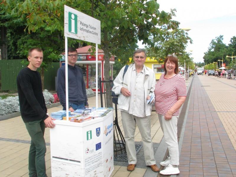 Vieninga turizmo informacijos sistema – pagalba turistams Lietuvoje, Rusijoje ir Lenkijoje