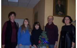 """Poezija """"Kalėdiniuose skaitymuose"""" liejosi lietuviškai, rusiškai, vokiškai ir prancūziškai"""