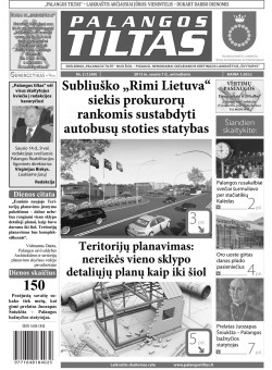 Palangos tilto laikraštis, Data: 2014-01-06, Numeris: 2 (1240)