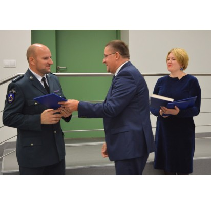 Angelų sargų dieną – padėkos policijos pareigūnams