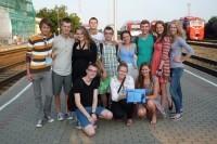 Net vasarą Palangos jaunimas kaupia žinias