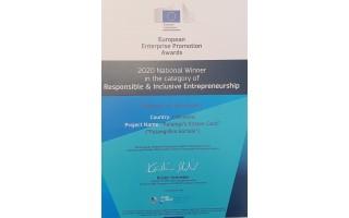 """Palangai - Europos komisijos apdovanojimas už """"Palangiškio kortelę"""""""