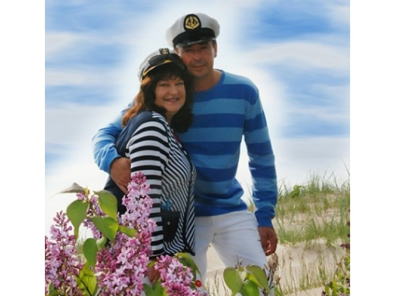 B. Petrikytė sako jūroje suradusi ir savo meilę - Igorį.