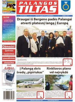 Palangos tilto laikraštis, Data: 2011-09-15, Numeris: 71 (1015)