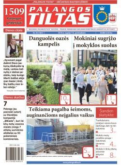Palangos tilto laikraštis, Data: 2018-09-06, Numeris: 36(1661)