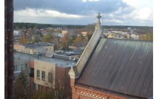 Jubiliejų švenčiančioje bažnyčioje atverta bokšto apžvalgos aikštelė
