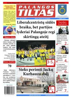 Palangos tilto laikraštis, Data: 2013-02-11, Numeris: 12 (1153)