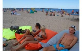 Palanga siekia Mėlynosios vėliavos, nors jos paplūdimiai – rūkalių rojus