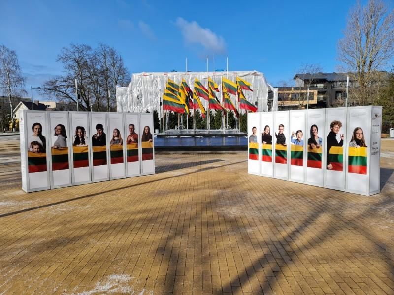 Laisvės šviesa: Palangos jaunimo pulsas. 2021 m. kovo 11 d. - Lietuvos nepriklausomybės atkūrimo dienos minėjimas