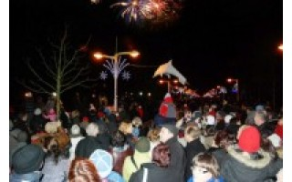 Šviečiantis Kalėdų miestas pasiruošęs sutikti ir Naujuosius metus