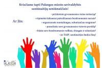 Iki rugsėjo 29 d. vyksta kandidatų į seniūnaičius registracija