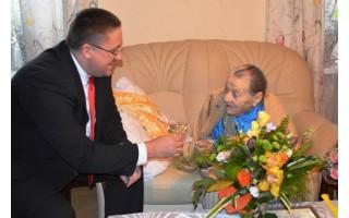 Anelei Šileikienei – sveikinimai sulaukus 100 metų