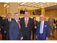 Seimo pirmininkas Viktoras Pranckietis pradžiugino palangiškius savo dėmesiu.