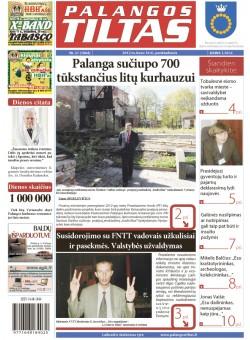Palangos tilto laikraštis, Data: 2012-03-14, Numeris: 21 (1064)