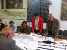 """Viešai pristatant autobusų stoties projektą, """"Rimi Lietuva"""" atstovas didesnių pastabų statytojams neturėjo."""