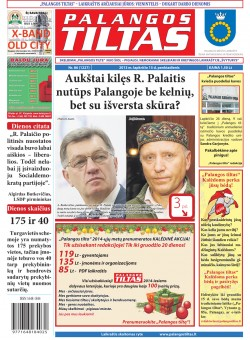 Palangos tilto laikraštis, Data: 2013-11-14, Numeris: 86 (1227)