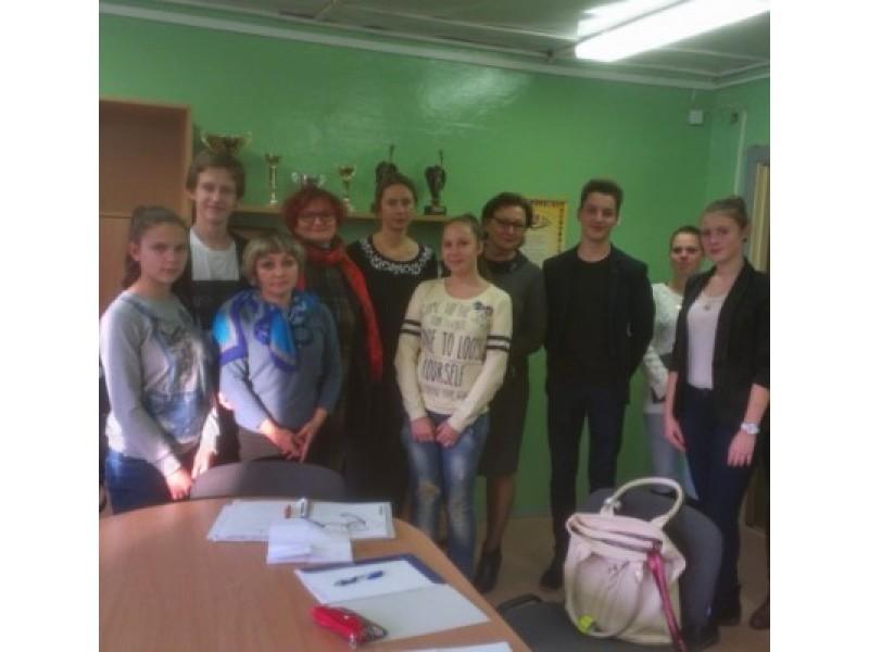 Vidmantas Mitkus skinasi kelią į Lietuvos mokinių parlamentą