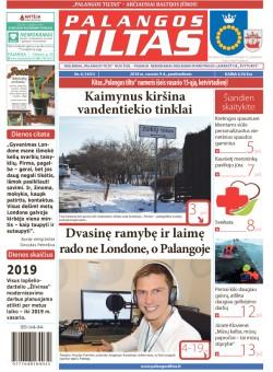 Palangos tilto laikraštis, Data: 2018-02-08, Numeris: 6(1631)