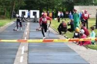 Šalies ugniagesiai surengė čempionatą Palangoje
