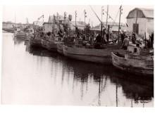 L. Skirpstas. Žvejų uostas.