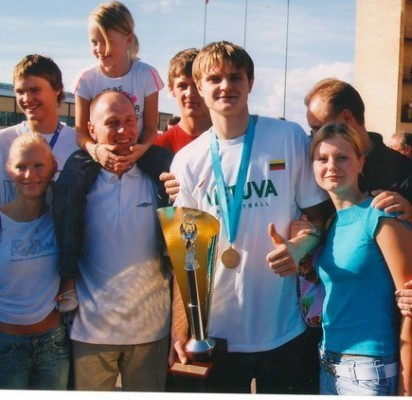 """""""R. Seibutis buvo Palangos sporto cento komandos lyderis"""", – kalba jo buvęs treneris R. Juška."""