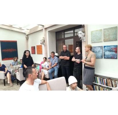 """""""Ramybės"""" galerijoje – trys tapybos bei juvelyrikos parodos"""