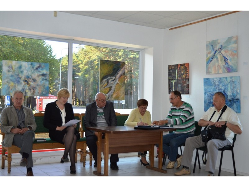 Šventojoje aptarti vietos gyventojams aktualūs klausimai