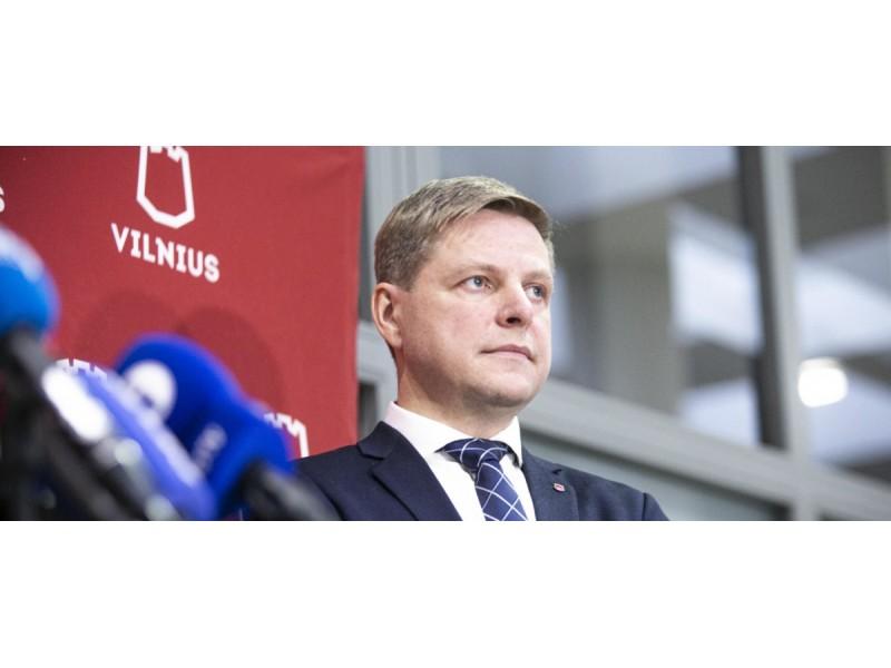 Arno Strumilos/15min.lt foto - Vilniaus meras Remigijus Šimašius