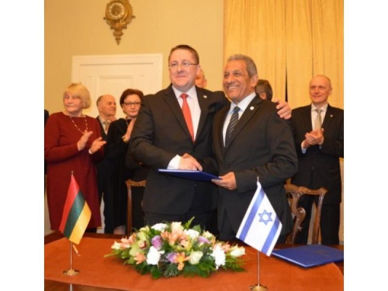 Palanga įgijo naują miestą-partnerį – draugaus su Izraelio kurortu Elatu