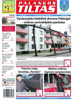 Palangos tilto laikraštis, Data: 2011-12-08, Numeris: 94 (1038)
