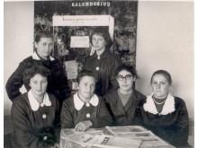 Palangos miesto ir  vaikų bibliotekų darbuotojos. 1960 m.