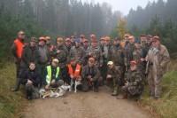 Paklotas pirmas laimikis per trečią sezono medžioklę – lapinas