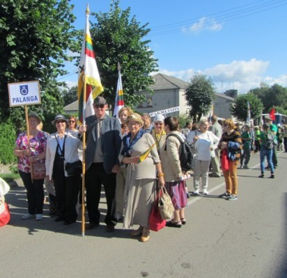 Palangiškiai dalyvavo Lietuvos politinių kalinių, tremtinių ir Laisvės kovų dalyvių sąskrydyje