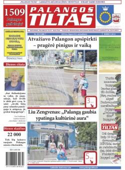 Palangos tilto laikraštis, Data: 2014-07-07, Numeris: 50(1288)